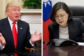 Trung Quốc lên tiếng cuộc điện đàm Mỹ - Đài