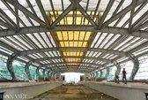 Cận cảnh lắp đặt đường ray đường sắt trên cao