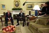 Tổng thống Obama gặp ông Trump tại Nhà Trắng lâu hơn dự kiến