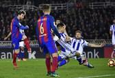 Messi ghi bàn, Barcelona vẫn mất điểm trước Sociedad
