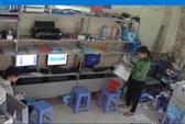 Nữ quái trộm ví tiền trong tiệm photocopy