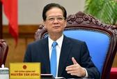 Thủ tướng Nguyễn Tấn Dũng xúc động nói lời chia tay Chính phủ