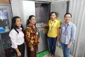 Lắp cabin sữa cho nữ công nhân nuôi con nhỏ