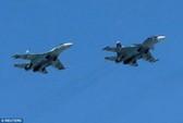 F-22 của Mỹ chạm trán 4 máy bay Nga ngoài khơi Alaska