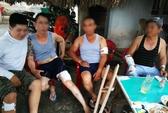 Nhóm giang hồ lao vào nhà truy sát, 4 người nhập viện cấp cứu