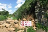 Di sản thế giới thành nhà Hồ bị đổ tường thành