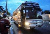 Va chạm xe khách biển số nước ngoài, người phụ nữ tử vong