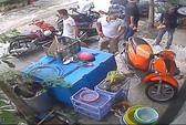 """Clip: Giang hồ dội """"mưa gạch"""" vào nhà dân ở quận Bình Thạnh"""