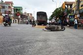 Xe tải cán chết nữ công nhân trên đường đi làm