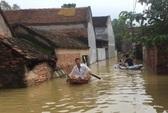 Cận cảnh nước ngập nhà dân ở nơi