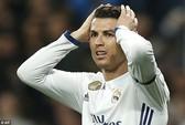 """Ronaldo """"tịt ngòi"""" hơn 500 phút ở Champions League"""