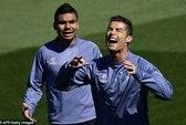 Ronaldo và đồng đội tự tin trước trận tiếp Atletico