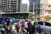 Ngăn đường cho xe buýt nhanh