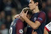 Cavani làm lành với Neymar sau trận đại thắng Bayern