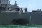 Tàu Hải quân Mỹ gặp nạn 4 lần tại châu Á trong năm 2017
