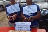 Bắt 2 người Lào vận chuyển hơn 40.000 viên ma túy qua biên giới