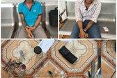 Vũng Tàu: Bắt 2 tên giang hồ bán ma túy đem theo kiếm