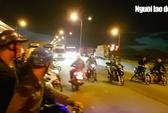 """CSGT TP HCM nói về vụ """"quái xế"""" chặn xe container để đua"""