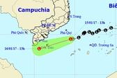 Áp thấp áp sát, Nam Bộ mưa trái mùa to đến rất to
