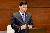 Bộ trưởng Nguyễn Ngọc Thiện trả lời chất vấn Quốc hội