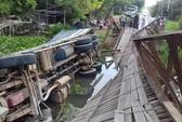 Cầu Tân Đức sập vì xe chở quá tải có... gần 10 tấn!
