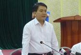 Chủ tịch Hà Nội Nguyễn Đức Chung đối thoại với người dân Đồng Tâm