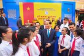 TP HCM: Hơn 2.000 trường học khai giảng năm học mới
