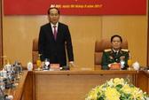 Chủ tịch nước Trần Đại Quang làm việc với Bộ Quốc phòng
