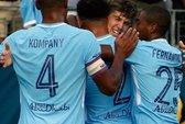 Man City đại thắng Tottenham trên đất Mỹ