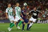 Thẻ đỏ Ramos phá hỏng ngày khai mạc của Real Madrid