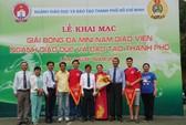 Trường Nguyễn Khuyến giành giải nhất bóng đá