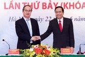 Ông Trần Thanh Mẫn làm Chủ tịch MTTQ Việt Nam thay ông Nguyễn Thiện Nhân