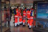 Sân bay Đức hỗn loạn vì khí lạ