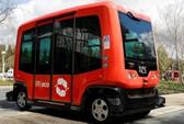 Xe buýt tự hành chính thức lăn bánh ở California