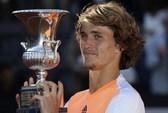 """Hạ Djokovic, """"sát thủ trẻ"""" Zverev vô địch Rome Masters"""