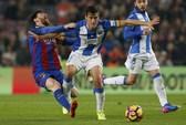 """Messi """"giải cứu"""" phút 90, Barcelona thoát hiểm trước Leganes"""
