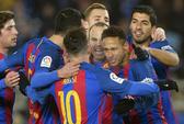 Neymar ghi bàn, Barcelona giải lời nguyền Anoeta
