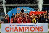 Chiến tích U15, mơ tương lai bóng đá Việt