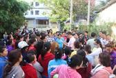 Khánh Hòa: Công nhân ngăn công ty tẩu tán tài sản