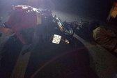 Hai người đàn ông chạy xe máy chết thảm trên đường về Tết