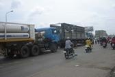 Xe bồn chở gas gây tai nạn liên hoàn