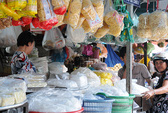 TP HCM: 6 mẫu bún, bánh hỏi có chất cấm