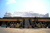 Tượng Phật nằm trên mái chùa đạt kỷ lục châu Á