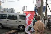 Bình Dương: Ô tô cán chết người, gây mất điện