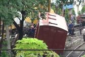 Bình Dương: Một toa tàu bị trật khỏi đường ray