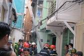 Nữ Việt kiều kẹt trong ngôi nhà đang cháy