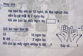Bài toán rợn người trong... sách lớp Một!