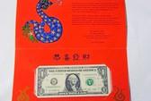 Tờ 1 USD may mắn cho năm Quý Tỵ