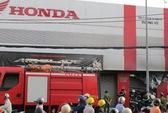 Cháy cửa hàng bán xe máy Honda