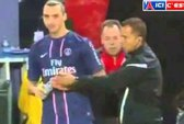 Ibrahimovic giành chai nước với trọng tài
